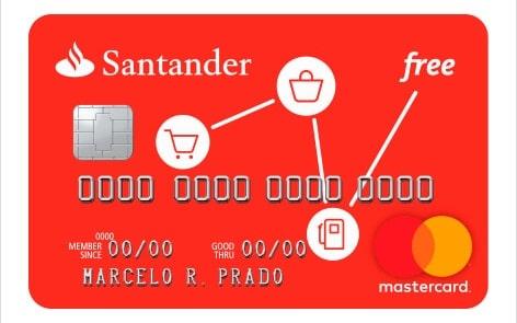 cartao santander free